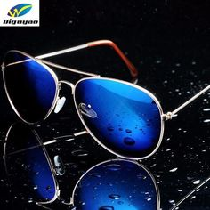 487b28495 DIGUYAO oculos de sol feminino Women sun Glasses Metal Pilot Brand  Sunglasses Anti-Reflective men