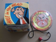 Vintage Hole In The Head Game,Original Box,Jim Prentice Electric Games by russnmt on Etsy