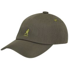 The Tropic Adjustable Spacecap is a seamless knit baseball cap from Kangol. The webbing back strap has an adjustable slider and enamel coated metal eyelets that match the color of the embroidery. Coachella Style, Baseball Caps, Back Strap, Tropical, Metal, Ball Caps