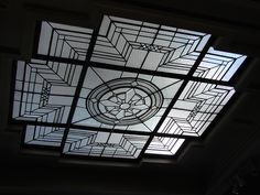 art deco skylight