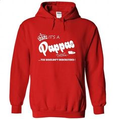 Its a Pappas Thing, You Wouldnt Understand !! Name, Hoodie, t shirt, hoodies, shirts - #wedding gift #novio gift. GET YOURS => https://www.sunfrog.com/Names/Its-a-Pappas-Thing-You-Wouldnt-Understand-Name-Hoodie-t-shirt-hoodies-shirts-5791-Red-39083593-Hoodie.html?id=60505
