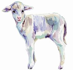 Watercolour Illustrations - Holly Exley Illustrator: My Illustrations for Wool Week Hipster Illustration, Watercolor Illustration, Watercolor Art, Holly Exley, Sheep Art, Organic Art, Watercolor Animals, Wildlife Art, Art Club