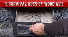 If you're going to be burning wood, you're going to have a ton (maybe literally!) of ash by the end of the winter, so what on earth are you going to do with it all?