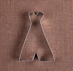Use our teepee cookie cutter to make sugar cookies and fun shaped rice crispy…
