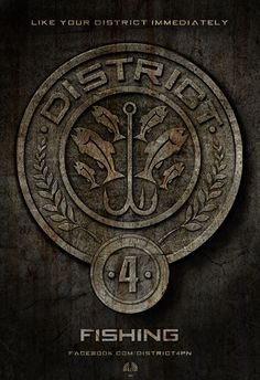 District 4: Fishing  thecapitol.pn  If you are a Hunger Games fan,  check it out!