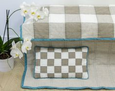 #etsy #cozyflax #patchwork #linen #quilt #blanket #stitch #stitched #cover #baby #toddler #handmade Patchwork Blanket, Dry Well, Toddler Quilt, Blanket Stitch, Quilt Cover, Pillow Cases, Baby, Cushions, Quilts