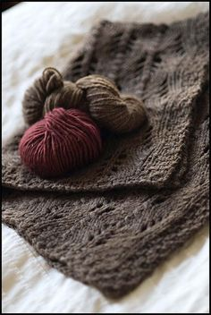 Ravelry: Wool Leaves pattern by Jared Flood