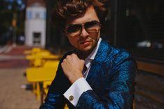 Metallic blazer - Ian Michael Crumm