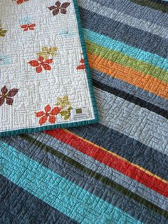 MidCentury Modern Quilt by quiltsbydesign on Etsy