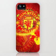 Manchester United Logo iPhone Case by Shyam13 - $35.00 Ipod Cases, Cool Phone Cases, Iphone Case, Blackberry Phones, Man United, Manchester United, The Unit, Football, Logos