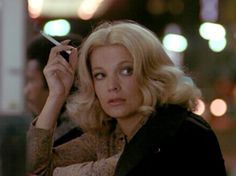 """""""Tipping the Core: the Ambiguous Celluloid of Gena Rowlands in the films of John Cassavetes"""" by Amanda Deutch People Smoking, Smoking Ladies, Hollywood Stars, Classic Hollywood, Before Sunrise Trilogy, Gena Rowlands, John Cassavetes, Classy Women, Classy Lady"""