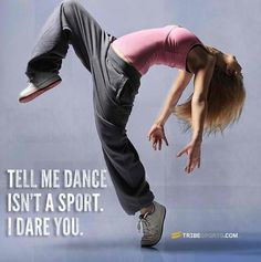 Certain dance team members would kill you! Seriously.