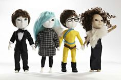 Makies are 3D-printed, customized, hackable dolls from London.