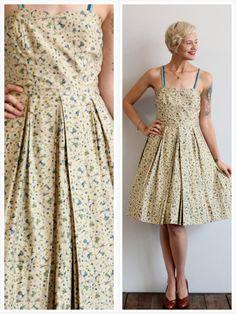 1950s Dress // Dancing Dames Dress // vintage by dethrosevintage, $138.00