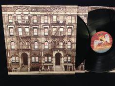 Led Zeppelin - Physical Graffiti Vinyl Record LP Swan Song SS 2-200