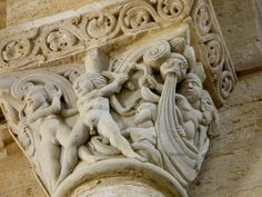 Capitel Orestiada, San Martin de Fromista