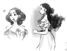 PHANTOM OF THE OPERA #4 PROCESS SKETCHES: CHRISTINE DAAE Christine's ultimate role in the story is being the 'damsel in distress', who decides to stand up and face the man she fears and loves the most in the end. I thought of her as a butterfly of...