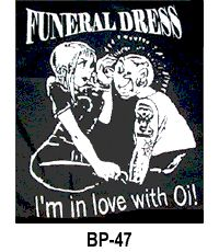 Funeral Dress ''In Love''Back-Patch #punk #rock #clothing #patches www.drstrange.com