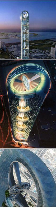 ~Anara Tower, Dubai | House of Beccaria. Más sobre ciudades y futuro sostenible en www.solerplanet.com