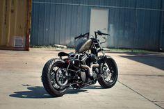 Harley Davidson Sportster (883/1200/72/48) Coil/Key Relocation