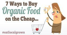 Why is Organic food so Expensive! (hint: It's not.) Here's some great tips on how to save money on Organic Food!