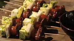 Pohlreich griluje zeleninový špíz se sýrem feta Feta, Tofu, Cobb Salad