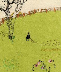 domovionok - Книжные иллюстрации в стиле арте повера.