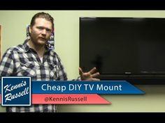 ▶ DIY Flat Screen TV Wall Mount: CHEAP! - YouTube