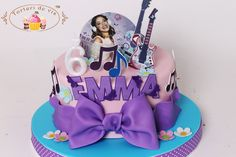 Torturi - Viorica's cakes: Tort Violetta pentru Emma Music Themed Cakes, Birthday Cake, Children, Desserts, Food, Food Cakes, Young Children, Tailgate Desserts, Boys