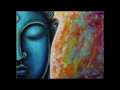 Step by Step example of how I create my Buddha paintings