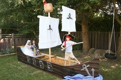 Food and Whine: Pirate Party for the kids