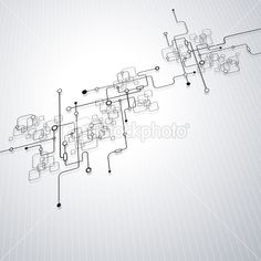 Circuit Board Abstract Royalty Free Stock Vector Art Illustration