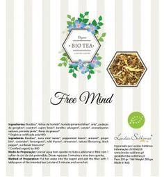 Bio Tea - Chás Biológicos Orgânicos - Bio Tea Free Mind 150 Grs // Lendas Sublimes - Produtos Gourmet
