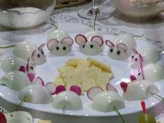 Brunch #Appetizers #cheesetray #hardboiledeggs