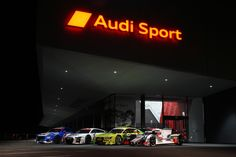 Check out this eye-catching view of Audi Sport Center inside Track, Abu Dhabi