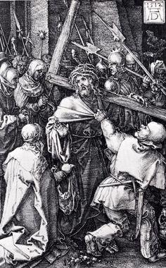 Albrecht Dürer, Jesus carrying the cross