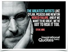 Quote by Steve Jobs.