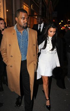 Kim Kardashian & Kanye West Goes Shopping At Balenciaga Boutique Then Later Goes On A Romantic Stroll In Paris! ~ @Gossipwelove