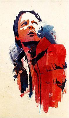 """Marty McFly"" by Robert Farkus. #ClippedOnIssuu from Artnois, Art & Music Issue 10"
