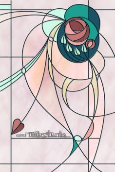 mackintosh stained glass   Stained glass design based on the style of Charles Rennie Mackintosh ...