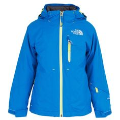 The North Face Blue Ozone Triclimate Ski Jacket