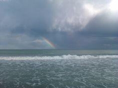 arco iris despues de la tormenta.