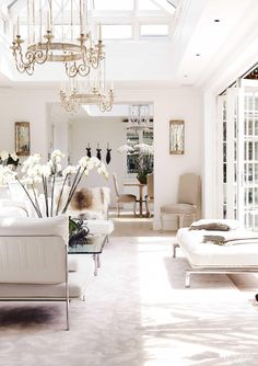 An all-white London Mansion - NZ House and Garden