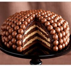 Cook an Amazing Maltesers Cake !