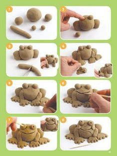 : Super SANDsational Ideas The post Dover Publications Sand Play!: Super SANDsational Ideas 2019 appeared first on Clay ideas. Clay Art Projects, Ceramics Projects, Polymer Clay Projects, Clay Crafts, Ceramics Ideas, Sculptures Céramiques, Sculpture Clay, Pottery Sculpture, Kids Clay