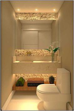 31 beautiful half bathroom ideas for your home 31 - Channel .- 31 beautiful half bathroom ideas for your home 31 – – Source by annamariabrand - Bad Inspiration, Bathroom Inspiration, Bathroom Ideas, Bathroom Organization, Bathroom Storage, Diy Bathroom, Modern Bathroom, Washroom, Shower Ideas