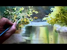Paint Reflections in the Creek Part 2 - YouTube