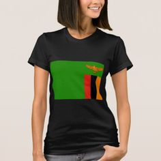 Shop Zambia Flag T-Shirt created by sergemayifuila. Zambia Flag, African Image, Shirt Template, T Shirts For Women, Clothes For Women, Shirt Style, Kids Outfits, Shirt Designs, Thanksgiving Tshirts