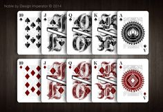 Noble (Special Edt.) Playing Cards by Design Imperator — Kickstarter