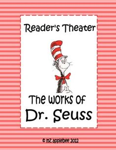 This package includes three Reader's Theater scripts based on classic Dr. Seuss books:- The Cat in the Hat (Advanced Level Readers)- Green Eggs . Reading Fluency, Teaching Reading, Teaching Ideas, Drama Teaching, Guided Reading, Teaching Art, Reading Lessons, Reading Strategies, Reading Activities